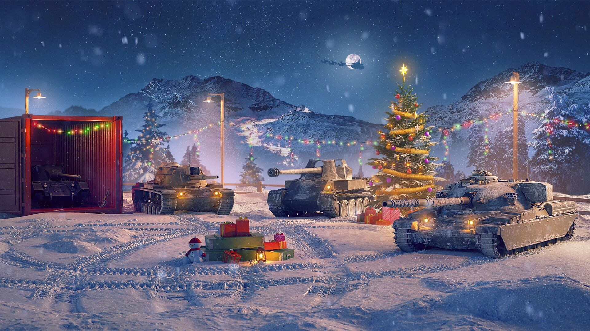 2020 Christmas Tank World Of Tanks New Year's Adventure: Auction and Lucky Draw! | World of Tanks Blitz
