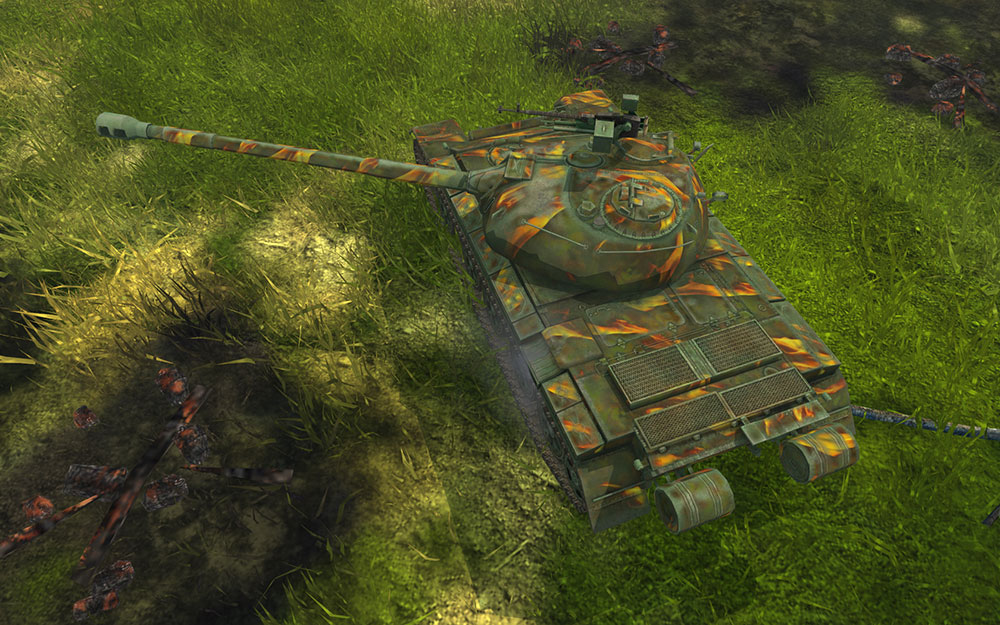 WoT Blitz: Camouflage: Winter Arrival – The Armored Patrol