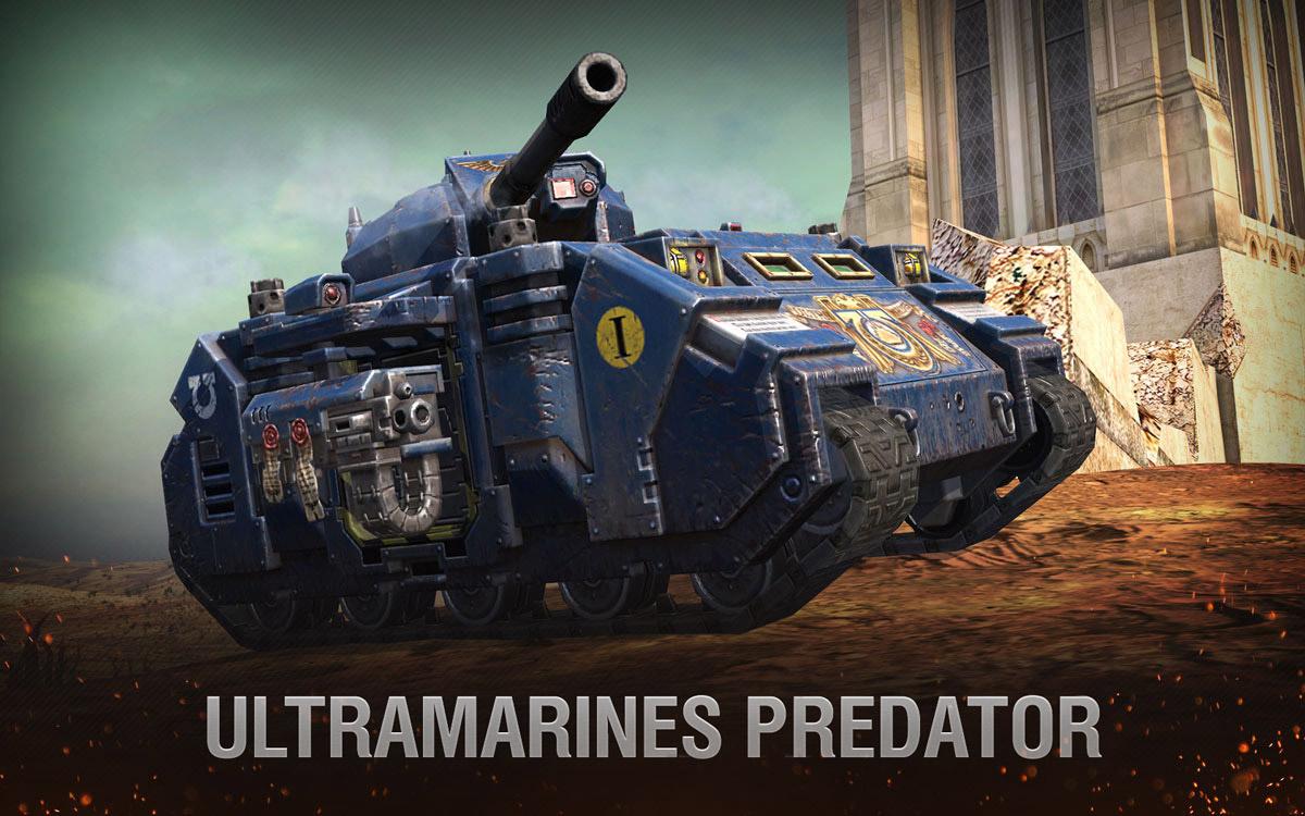 Warhammer 40,000: Macragge's Thunder | World of Tanks Blitz