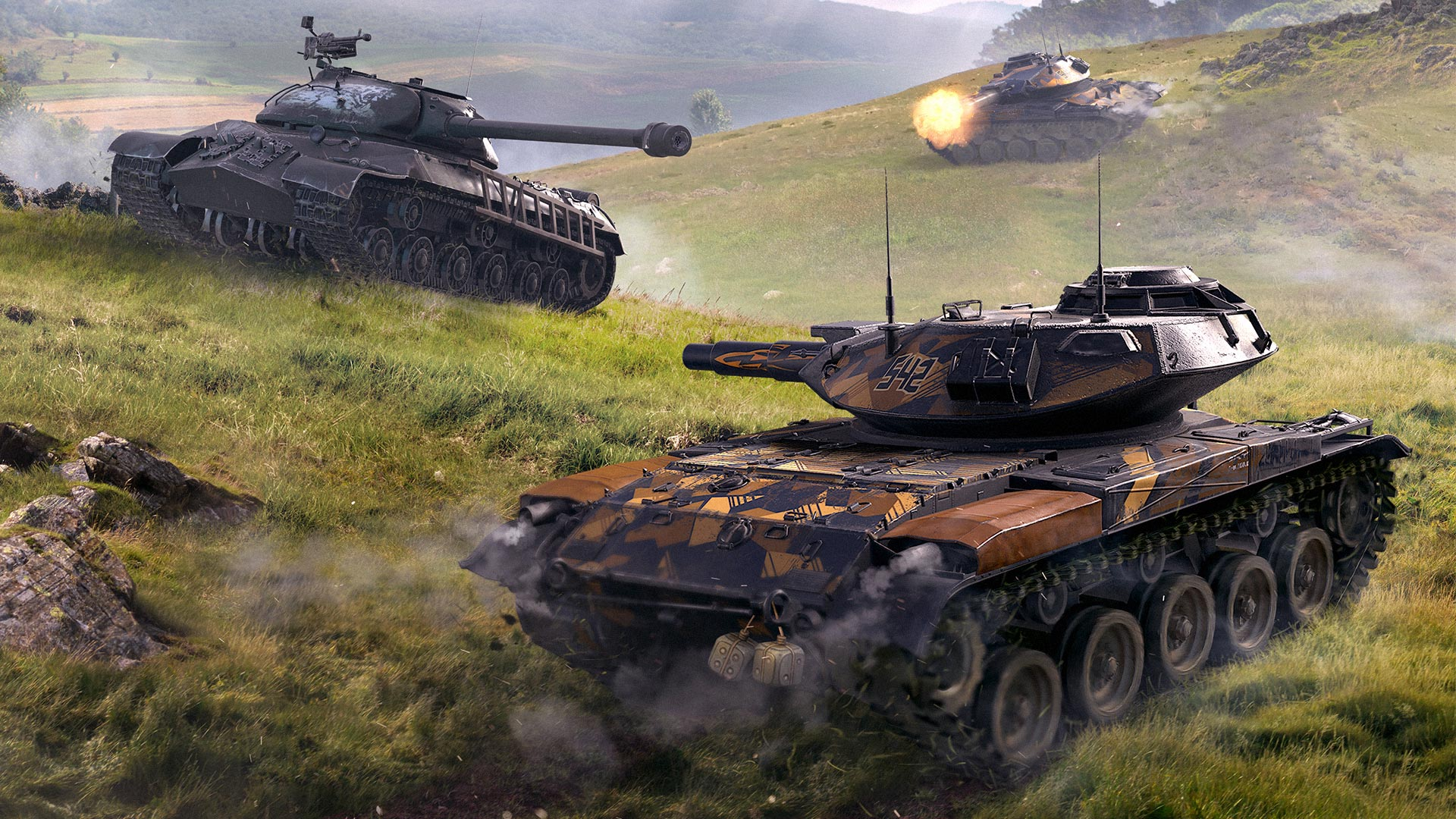 Camouflages and Attachments in Update 6 0 | World of Tanks Blitz