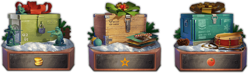 HOLIDAY CHESTS