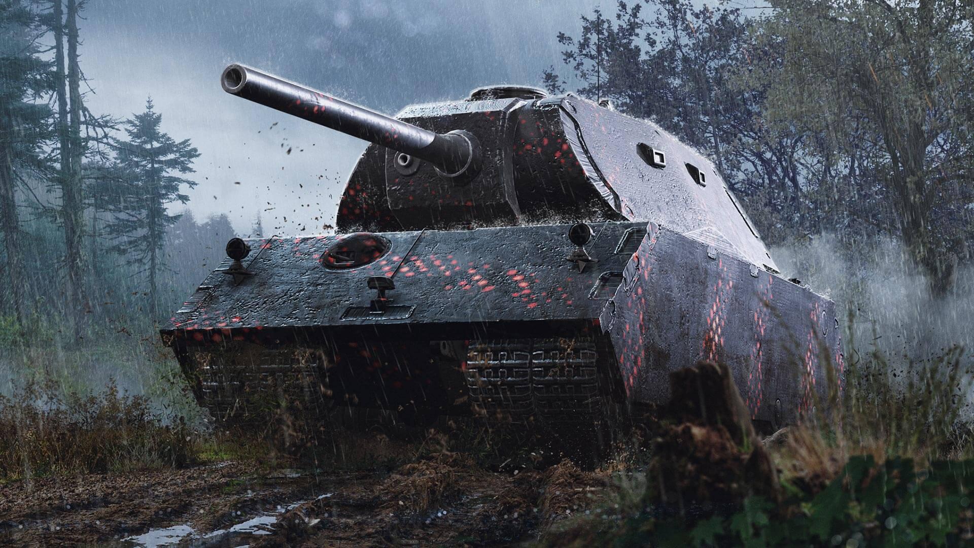 강력한 베헤모스 VK 168.01 (P)   World of Tanks Blitz