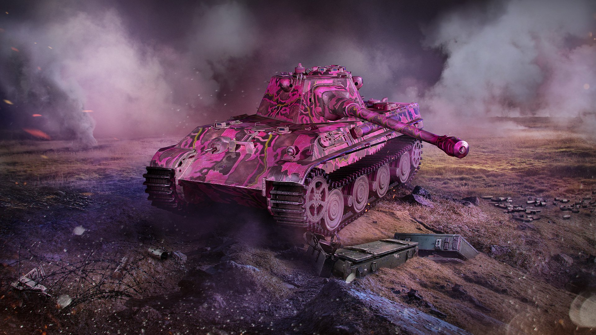 Pink Your Tank! | World of Tanks Blitz